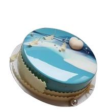 鏡面星空蛋糕