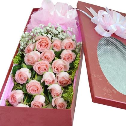 棉纸包装玫瑰花步骤图