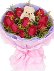 11枝红玫瑰,5