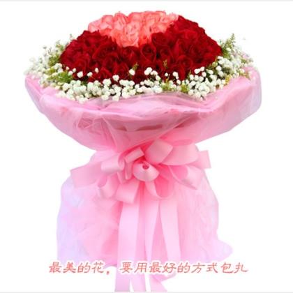 099枝玫瑰花/