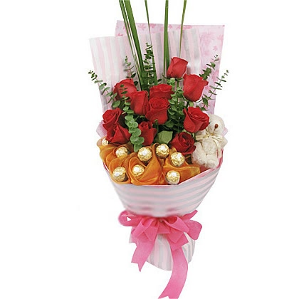 11枝玫瑰花/红玫瑰