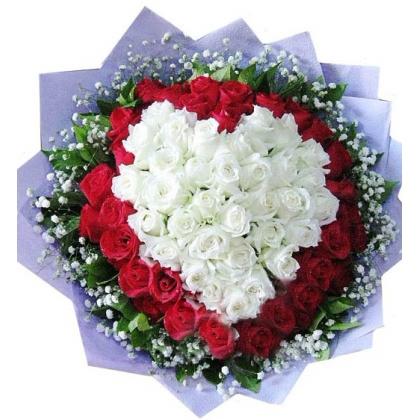 66枝玫瑰花/