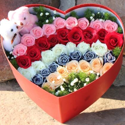 39枝玫瑰花/