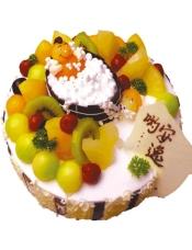 蛋糕小语:慵懒的阳光...和煦的微风...爽滑的泡泡浴...缤纷的水果餐...安逸哟!