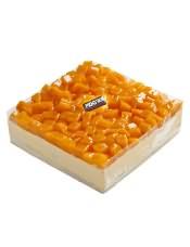 芒果口味的慕斯蛋糕,浓浓清爽的芒果慕斯,入口即化,芒果的香味在唇齿间穿梭,回味悠长,让挑剔的味蕾,得到了大大的满足。