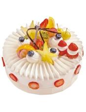 多姿的杨桃,萌萌的草莓,舞秋风,似在浅吟内心的暖意,秋意浓,似在低语蛋糕的美味。