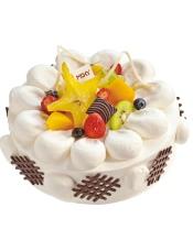极光中,清新与美丽同生,兰伯特仁慈的冰川,带领我 ,走向你,白色情人,零下九十一度的爱恋,就像这蛋糕的香甜回味悠长。