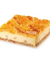 乳酪蛋糕 越吃越水灵的蛋糕,洋溢着青春、健康的气息。 最佳食用温度:7℃,当天食用口感最佳。 储存条件:2-7℃冷藏保存。 蛋糕请提前36小时预订!