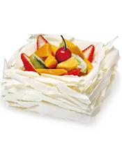 情侣蛋糕  越吃越水灵的蛋糕,洋溢着青春、健康的气息。 最佳食用温度:7℃,当天食用口感最佳。 储存条件:2-7℃冷藏保存。 蛋糕请提前36小时预订!
