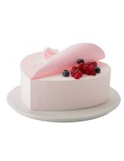 原味戚风蛋糕+酸奶提子夹心,直径18CM