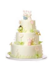 (轻芝士蛋糕+酸奶提子夹心)+(果仁坯+乳脂奶油),规格:30×10+20×10+15×10cm