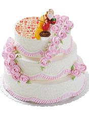 百寿延绵(8号+12号+14号),祝寿蛋糕