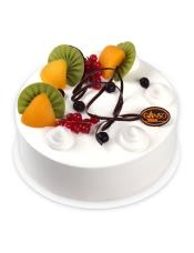 鲜奶蛋糕。原味蛋胚,布丁夹层,什锦水果夹层 等。