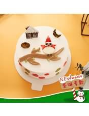 口味:鲜奶蛋糕,圣诞party,等你来参加