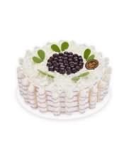 口味:鲜奶蛋糕,怡漫蓝莓带来大开朵颐的鲜果体验