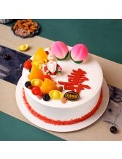 元祖祝�埘r奶蛋糕