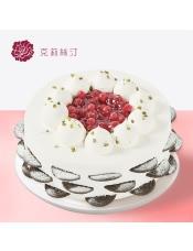 稀奶油蛋糕:由樱桃果酱、稀奶油、菠萝果肉、原味戚风蛋糕等制作