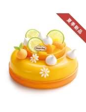口味: 橙香柚子冰淇淋,芒果雪芭