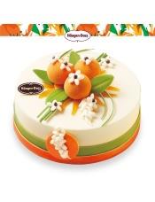 春季新品,冰淇淋口味:橙花风味、草莓,规格:6寸800克(较一般6寸要大些),8寸1.4千克(较一般8寸要大些)