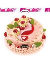 春季新品 倾心茉莉1.2千克 ,冰淇淋口味:茉莉花覆盆子石榴风味、香草味