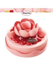 香草,草莓味冰淇淋