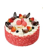 �{莓�O果�A心乳脂奶油蛋糕