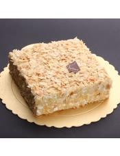 原材料:榛子酱(土耳其)、奶酪(荷兰)、鲜奶油、美国杏仁(美国)