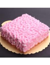 原材料:香草蛋糕体,奶酪(新西兰),淡奶(新西兰),君度酒(法国),草莓牛奶巧克力(新西兰)