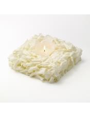 口味:椰子口味.椰子香气,蛋糕坯的颗粒感平衡奶油的软滑,烛光