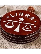 生日蛋糕图片:星座提拉米苏