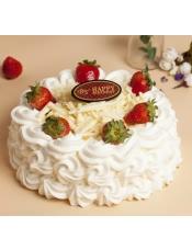 蛋糕图片:莓丽绽放