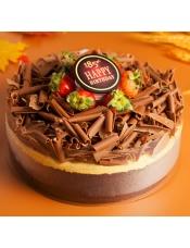 巧妙融合3种巧克力,搭配芒果奶酪慕斯味浓而不腻,净含量:860克