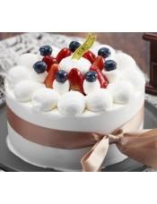 蛋糕图片:草莓圆舞曲