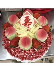 水果恋曲祝寿版,季节不同,此款的水果也会不同