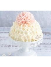 蛋糕图片:幸福之花