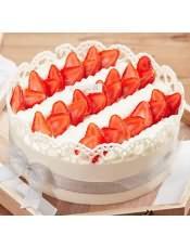 蛋糕图片:草莓芭蕾