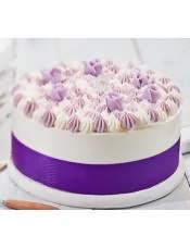 蛋糕图片:草莓布丁