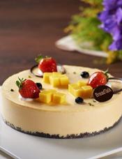 芒果芝士蛋糕图片