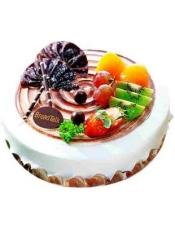 果物旋涡蛋糕