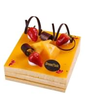 鲜芒夹心蛋糕图片