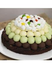 主要配料:黑巧克力、核桃、赤砂糖、开心果酱、棉花糖