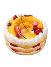 面包新�Z水果蛋糕