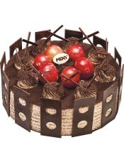 主要原料:黑巧克力、大红提、奥利奥