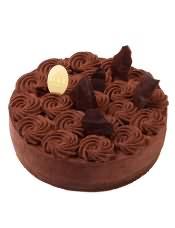 女王巧克力蛋糕是法国人钟爱的蛋糕之一,造型灵感源自女王皇冠。据传为皇室专用的巧克力蛋糕,原法国总理府西点大师J-Marc Bernelin 于2015年将它带到味多美。