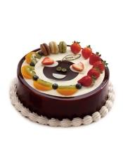 水果也可以如此卖萌,巧克力携手马卡龙让快乐的时光跃然入口.