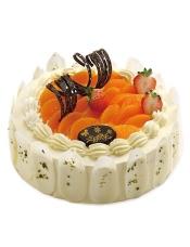 天然奶油缀上水嫩多汁的黄桃,甜蜜里蕴育着幸福的灵气,值得一尝。