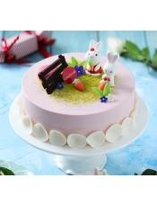 呆萌兔儿的梦想很简单,就是吃口100%使用进口天然稀奶油的香甜