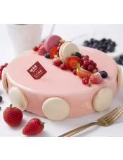 粉色记忆弥足珍贵,100%使用进口干酪的甜美瞬间更是稀少,此时的莓果祝福注定不能少