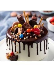 巧克力奶油天堂,每一口都能尝到巧克力的香甜,每一口都有100%使用进口天然稀奶油的自然味道