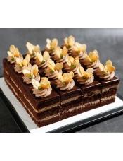巧克力�L味蛋糕,16*16cm